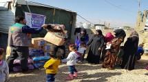 Laznas Dewan Dakwah Salurkan Bantuan Pengungsi Suriah di Lebanon.