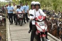 Presiden Jokowi dan Ibu Iriana kunjungan kerja ke Papua (Foto Dok Industry.co.id)
