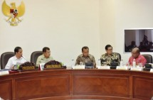 President Jokowi Limited Meeting to Discuss Papua Infrastructure (Photo Setkab)
