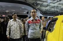 President Jokowi with Menperin opened IIMS 2018 (dok Industry.co.id)