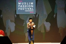 President Jokowi Inaugurated the Muslim Fashion Festival (Photo Herlambang)