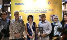 Celebration Expansion of Casio and Gramedia Cooperation