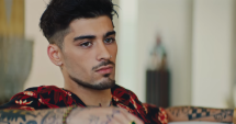 Zayn Malik in the video clip Let Me. (Source: YouTube)