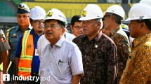 Vice President Jusuf Kalla and Minister Basuki Review Readiness Venue Asian Games