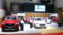 Booth Mazda at IIMS 2018