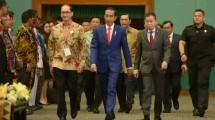 Presiden Joko Widodo pada pembukaan IPA Convex 2018