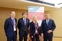 Forum Internasional IFAD oleh International Fund for Agricultural Development (IFAD) di Roma, Italia, Selasa (2/5).