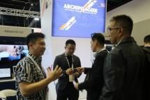 Sebanyak delapan perusahaan rintisan atau startup Indonesia memamerkan inovasi mereka pada pameran teknologi dan informasi terbesar di Australia, Centrum fur Buroautomation, Informationteknologie und Telekomunikation (CeBIT).