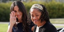 Meghan Markle and Doria Ragland (Photo: People)