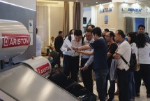 Ariston Thermo Indonesia (ATI) at IndoBuildTech 2018 Exhibition (Photo: dok Industry.co.id)