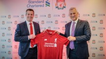 Standard Chartered Bank extended its partnership with Liverpool Football Club