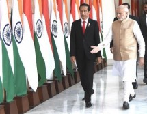 President Jokowi and Shri Narendra Modi (Photo Setkab)