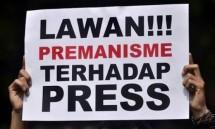 Kekerasan terhadap awak media (Foto Dok Radar)
