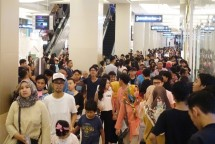 The atmosphere in Kota Kasablanka during Ramadan (Ist)