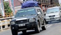 Ilustrasi mudik dengan kendaraan pribadi (Ist)