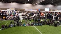 Tim robot (Ichiro) asal Institut Teknologi Sepuluh Nopember (ITS) Surabaya menyabet juara pertama pada ajang kompetisi robot tingkat dunia (Robo Cup 2018) di Montreal, Kanada