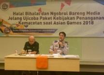 Badan Pengelola Transportasi Jabodetabek (BPTJ) bersama Dishub DKI Jakarta menyiapkan tiga paket kebijakan rekayasa lalu lintas untuk mendukung keberhasilan pelaksanaan Asian Games 18th di Jakarta.