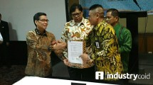 Signing of cooperation between HKI and Telkom (Hariyanto / INDUSTRY.co.id)