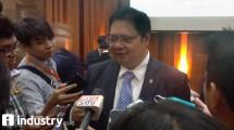 Minister of Industry Airlangga Hartarto