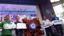 Platform pembayaran digital Ovo melakukan kerja sama dengan empat perusahaan strategis yaitu Grab, Alfamart, Moka dan Bank Mandiri.