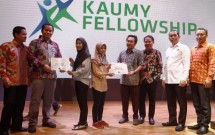 Para Penerima Bea Siswa Keluarga Alumny Universitas Muhamadiyah Yogyakarta