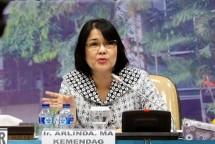Director General of National Export Development (PEN) Ministry of Trade, Arlinda (Foto Antaranews)