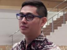 Reza Priyambada, analis PT Binaartha Parama Sekuritas (Foto Abe)