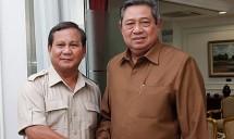 Susilo Bambang Yudhoyono dan Prabowo Subianto (Foto Ist)