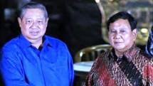 Ketum Demokrat SBY dan Ketum Geirndra Prabowo Subianto (Foto Dok Industry.co.id)