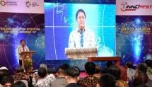 Menteri Kominfo Rudiantara dalam acara Innofest: Building Innovation Ecosystem for Making Indonesia 4.0 di Gedung Kementerian Perindustrian, Jakarta, Selasa (24/07/2018)