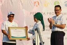 BRI Raih Penghargaan dari BPJS Kesehatan (Foto: Rizki Meirino)