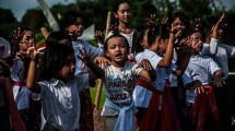 Ilustrasi Anak Indonesia (NurPhoto/Getty Images)