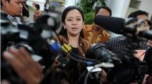 Menko Pembangunan Manusia dan Kebudayaan Puan Maharani. (Romeo Gacad/AFP)