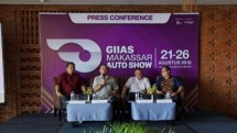 Yusuf Karim Ungsi (Director of One Event), Mr. Kukuh Kumara (General Secretary of GAIKINDO), Mr. Eddy Sumedi (Secretary 1 of GAIKINDO), Mr. Andy Wismarsyah (President Director of Amara Group)