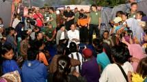 Presiden Jokowi temui korban gempa Lombok