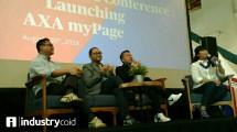 Peluncuran AXA MyPage (Hariyanto/INDUSTRY.co.id)