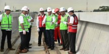 Minister of Transportation Budi Karya Sumadi reviewed the LRT project
