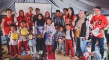 Bangun Semangat Anak Terdampak Gempa Lombok Melalui Aktivitas Trauma Healing