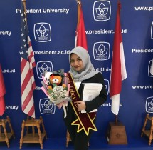 Viranda Nur Fadhila Lahay (Student of Master Business Administration in Technology, President University)