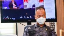 Minister of Industry Agus Gumiwang Kartasasmita