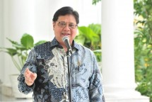 Head of the COVID-19 Handling and National Economic Recovery Committee Airlangga Hartarto.
