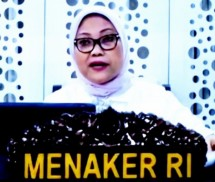 Minister of Manpower Ida Fauziyah