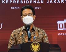Minister of Health Budi G. Sadikin (19/04/2021). (Photo by: PR of Cabinet Secretariat/Agung)