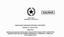 Presidential Regulation Number 27 of 2021
