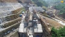 Dam construction (Source: pu.go.id)