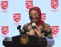 Minister of Manpower Ida Fauziyah. (Photo by: BPMI Documentation)