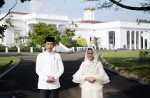 Indonesian President and First Lady Iriana Jokowi. (Photo: BPMI / Lukas)