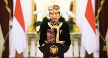 President Jokowi virtually opens the 43rd Bali Arts Festival, Saturday (12/6) (Photo by: Press Bureau of Presidential Secretariat)