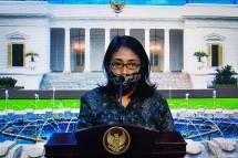 Minister of Women Empowerment and Child Protection I Gusti Ayu Bintang Darmawati (Source: PR of Cabinet Secretariat)