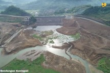 Kuningan Dam in West Java (Photo by: PR of Ministry of Public Works and Public Housing)